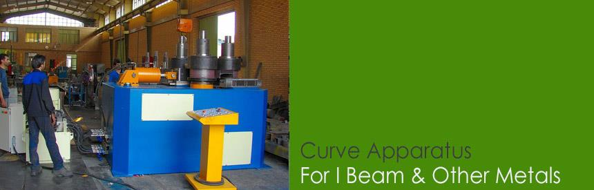 Curve Apparatus for I Beam and Other metals